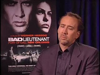Nicolas Cage (Bad Lieuntenant: Port of Call New Orleans) - Interview Video Thumbnail