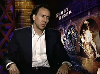 NICOLAS CAGE (GHOST RIDER) - Interview Video Thumbnail