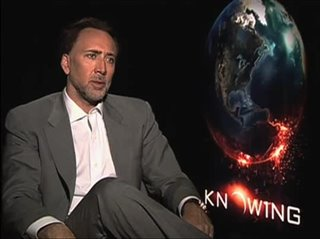 Nicolas Cage (Knowing) - Interview Video Thumbnail