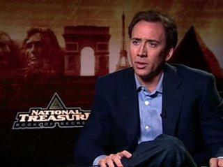 Nicolas Cage (National Treasure: Book of Secrets) - Interview Video Thumbnail