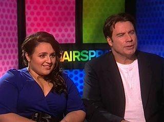 Nikki Blonsky John Travolta Hairspray Interview Movie Trailers And Videos