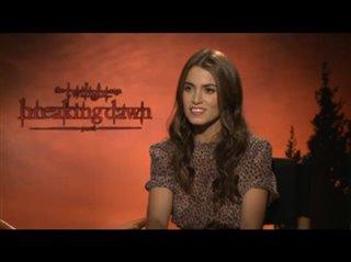 Nikki Reed (The Twilight Saga: Breaking Dawn - Part 1)- Interview Video Thumbnail