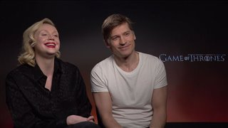 Nikolaj Coster-Waldau & Gwendoline Christie talk 'Game of Thrones'- Interview Video Thumbnail