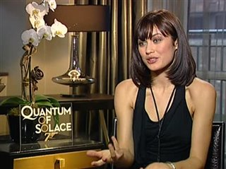 Olga Kurylenko (Quantum of Solace)- Interview Video Thumbnail