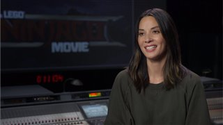 olivia-munn-interview-the-lego-ninjago-movie Video Thumbnail