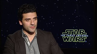 Oscar Isaac Interview - Star Wars: The Force Awakens Video Thumbnail