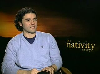OSCAR ISAAC (THE NATIVITY STORY)- Interview Video Thumbnail