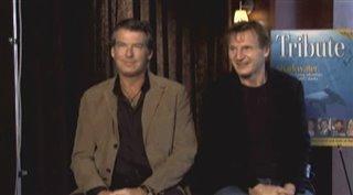 PIERCE BROSNAN & LIAM NEESON (SERAPHIM FALLS)- Interview Video Thumbnail