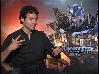 Ramon Rodriguez (Transformers: Revenge of the Fallen)- Interview Video Thumbnail
