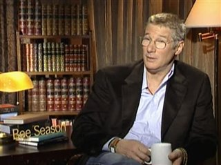 RICHARD GERE - BEE SEASON- Interview Video Thumbnail