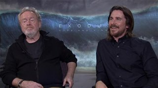 Ridley Scott & Christian Bale (Exodus: Gods and Kings) - Interview Video Thumbnail