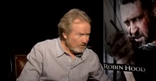 Ridley Scott (Robin Hood) - Interview Video Thumbnail
