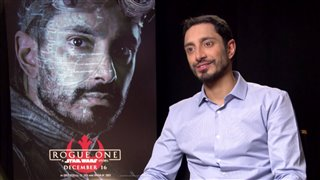 Riz Ahmed Interview - Rogue One: A Star Wars Story Video Thumbnail