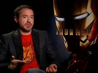 Robert Downey Jr. (Iron Man)- Interview Video Thumbnail