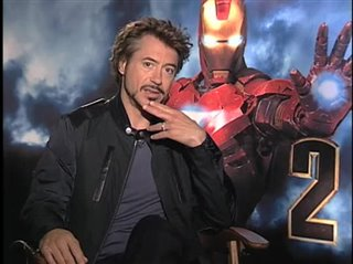 Robert Downey Jr. (Iron Man 2)- Interview