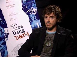 ROBERT DOWNEY, JR. (KISS KISS BANG BANG)- Interview Video Thumbnail