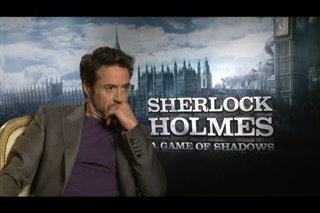 Robert Downey Jr. (Sherlock Holmes: A Game of Shadows)- Interview Video Thumbnail