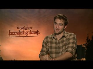 Robert Pattinson (The Twilight Saga: Breaking Dawn - Part 1)- Interview Video Thumbnail