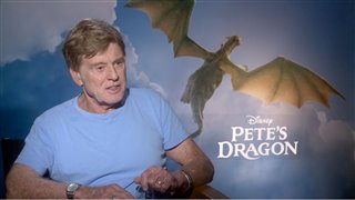 robert-redford-interview-petes-dragon Video Thumbnail