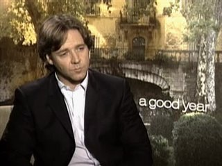 RUSSELL CROWE (A GOOD YEAR) - Interview Video Thumbnail