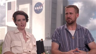 ryan-gosling-claire-foy-talk-first-man Video Thumbnail