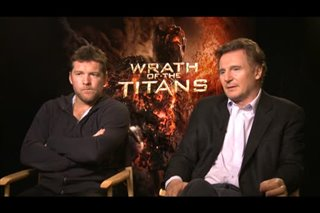 Sam Worthington & Liam Neeson (Wrath of the Titans)- Interview Video Thumbnail