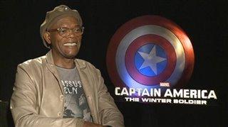 Samuel L. Jackson (Captain America: The Winter Soldier)- Interview Video Thumbnail