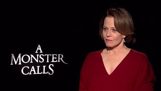 Sigourney Weaver Interview - A Monster Calls Video Thumbnail