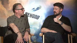 simon-pegg-karl-urban-interview-star-trek-beyond Video Thumbnail