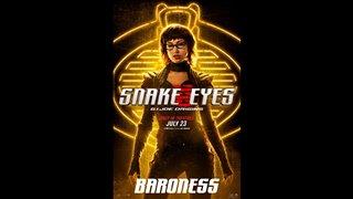 SNAKE EYES Motion Poster - Baroness Video Thumbnail