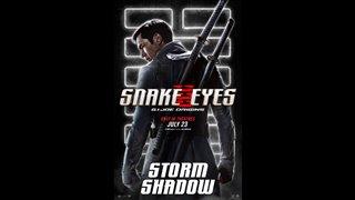 SNAKE EYES Motion Poster - Storm Shadow Video Thumbnail