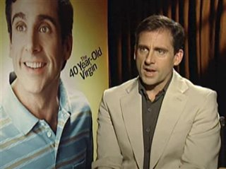 STEVE CARELL - THE 40 YEAR-OLD VIRGIN - Interview Video Thumbnail