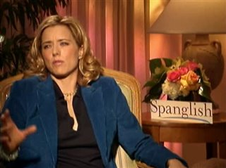 TÉA LEONI - SPANGLISH- Interview Video Thumbnail