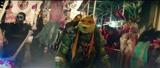 "Teenage Mutant Ninja Turtles: Out of the Shadows movie clip - ""Halloween Parade"" Video Thumbnail"