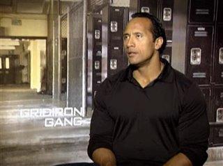 THE ROCK (GRIDIRON GANG)- Interview Video Thumbnail