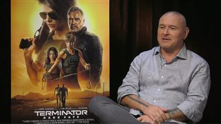 Tim Miller talks 'Terminator: Dark Fate'- Interview Video Thumbnail