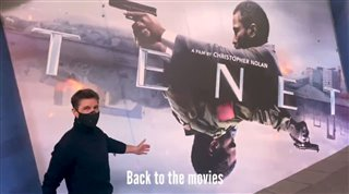 Tom Cruise watches TENET Video Thumbnail