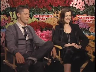 Topher Grace & Anne Hathaway (Valentine's Day) - Interview Video Thumbnail