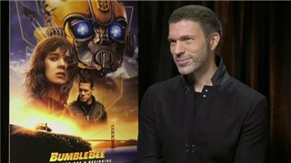 travis-knight-talks-bumblebee Video Thumbnail