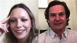 Victoria Pedretti & Henry Thomas talk 'The Haunting of Bly Manor'- Interview Video Thumbnail