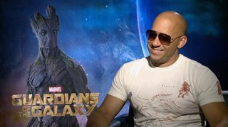 Vin Diesel (Guardians of the Galaxy)- Interview Video Thumbnail