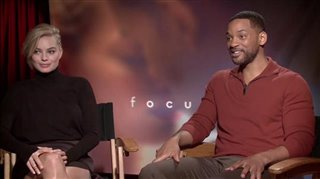 Will Smith & Margot Robbie (Focus) - Interview Video Thumbnail