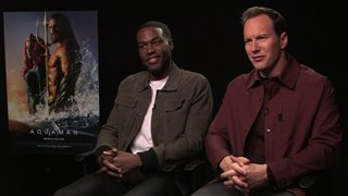 Yahya Abdul-Mateen II & Patrick Wilson talk 'Aquaman'- Interview Video Thumbnail