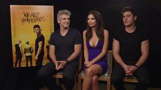 Zac Efron, Emily Ratajkowski & Max Joseph Interview - We Are Your Friends Video Thumbnail