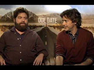 Zach Galifianakis & Robert Downey Jr. (Due Date)- Interview Video Thumbnail