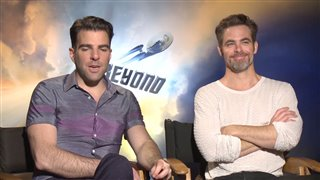 zachary-quinto-chris-pine-interview-star-trek-beyond Video Thumbnail