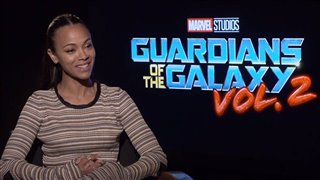 Zoe Saldana Interview - Guardians of the Galaxy Vol. 2 Video Thumbnail